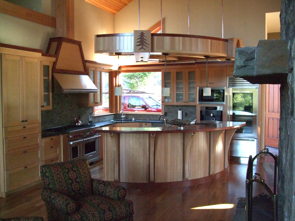 Wind River Builders Husum Custom Kitchen